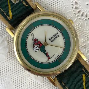 Sport Accessories - Vintage Baseball Watch Rotating Baseball